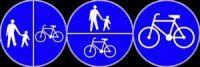 Policja przypomina – chodniki dla pieszych nie dla rowerzystów!