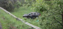 """Po kolejnym groźnym zdarzeniu drogowym w Rudach na Przeryciu. Kierowca Porsze był ,,nawalony"""" – miał w sobie 3 promile!"""