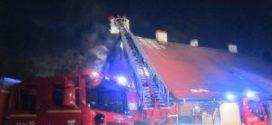 Niedzielny pożar w Rudach – szczęście w nieszczęściu, straty ogromne. Wesprzyjmy poszkodowanych.