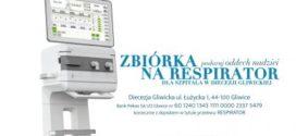 Diecezja Gliwicka zakupiła respirator i prosi o składkę na kolejne urządzenie.